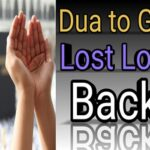Dua To Bring Back Love